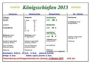 Programm Kirchweih 2013 klein
