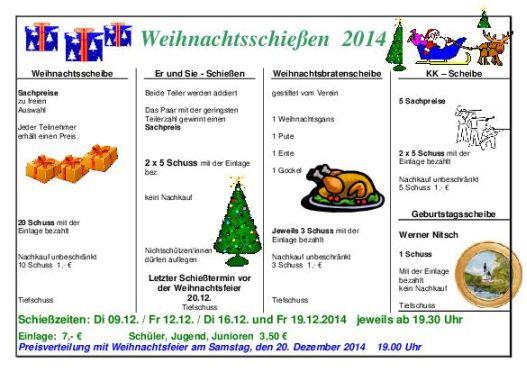 Programm Weihnachten 2014 klein